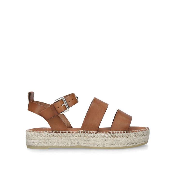 0533a5693dc8 Kleverest Tan Flatform Espadrille Sandals Flatform By Carvela