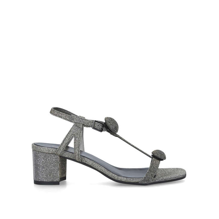 enjoy complimentary shipping variety of designs and colors elegant appearance Shannon Metallic Block Heel Sandals By Carvela Comfort ...