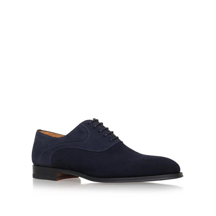 Oxford Brogue Navy Brogue Shoes By Magnanni Kurt Geiger