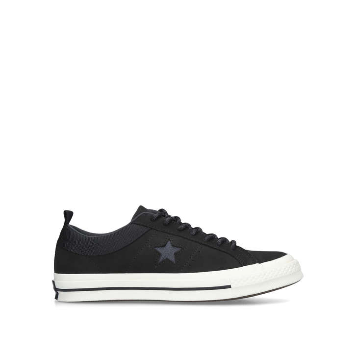 b75b9247af86 One Star Lo Mix Mat Black Low Top Trainers By Converse | Kurt Geiger