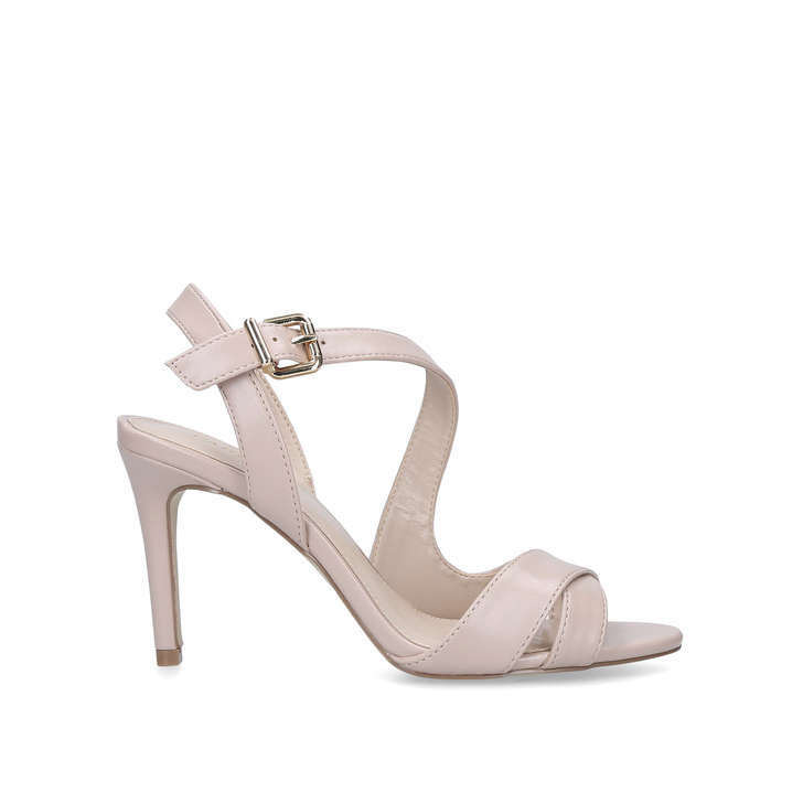 f5623a55969 Lossy Nude Stiletto Heel Strappy Sandals By Carvela