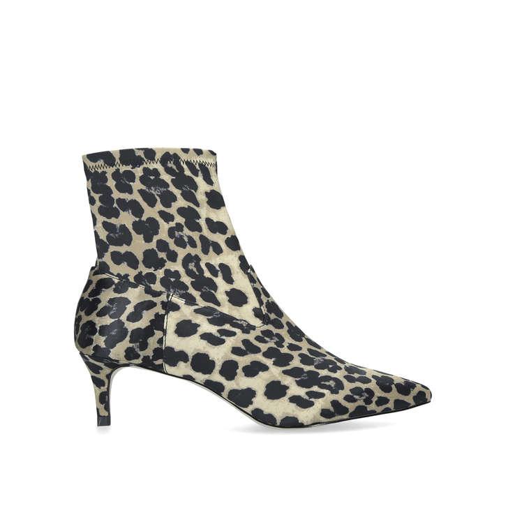 6cc38cb36fdb Shakira Leopard Print Kitten Heel Ankle Boots By KG Kurt Geiger | Kurt  Geiger