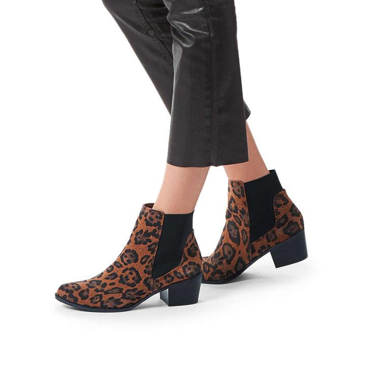 super quality best value promo codes Spider2 Leopard Print Heeled Western Boots By KG Kurt Geiger ...