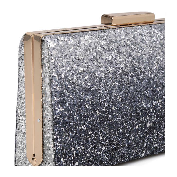 6e311a67421 Wapato Silver Embellished Clutch Bag By Aldo | Kurt Geiger
