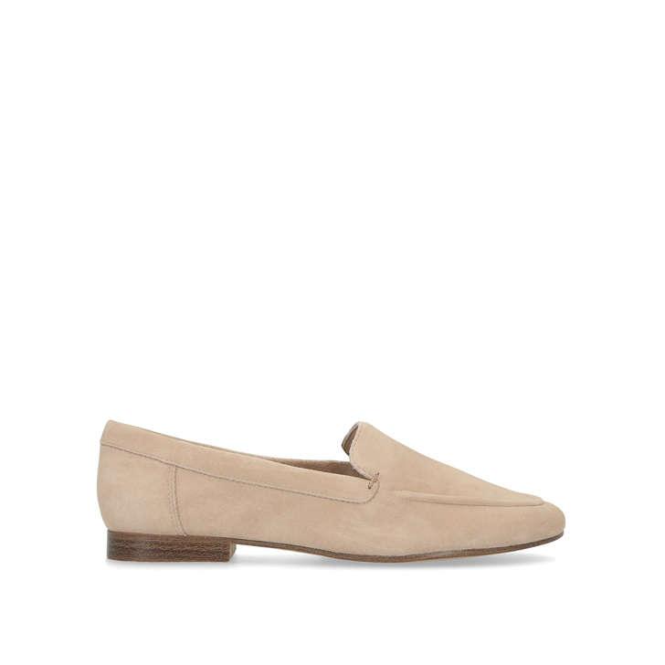 8831814e25e Joeya Nude Leather Flat Loafers By Aldo