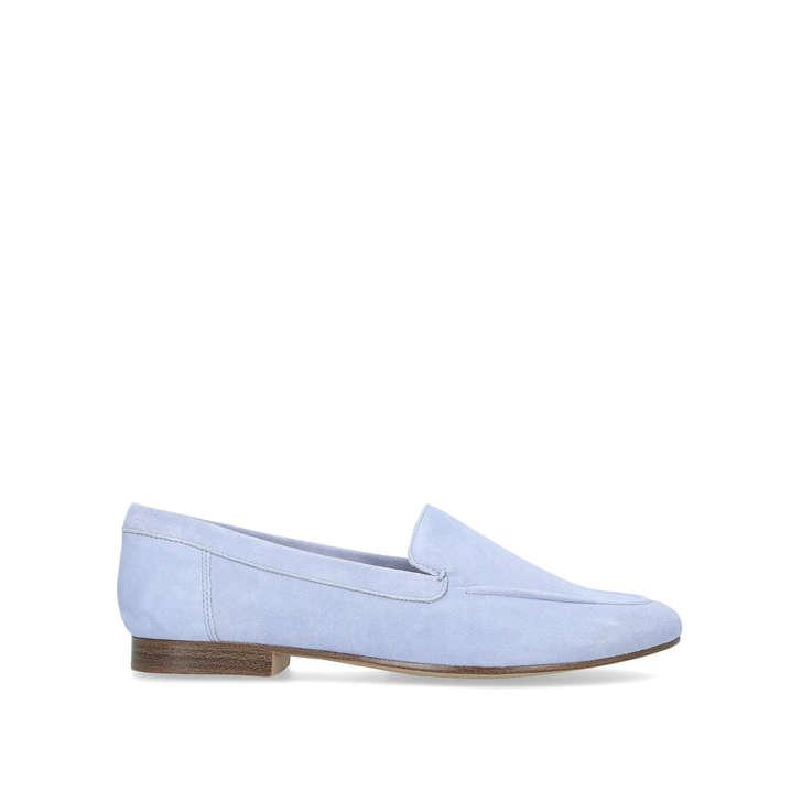 5d62e9c9263 Joeya Blue Flat Slip On Loafers By Aldo