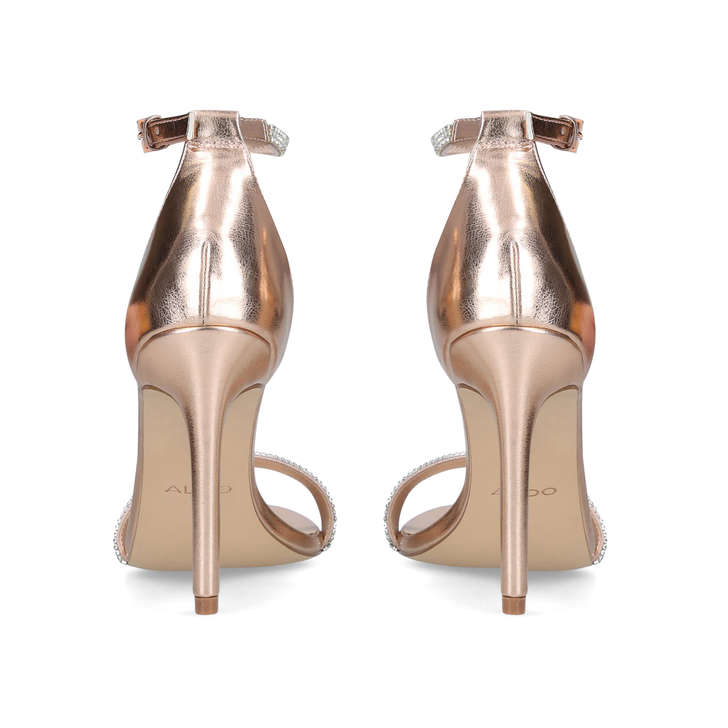 4a7ec72cc60c Aroclya Gold Embellished Stiletto Heeled Sandals By Aldo