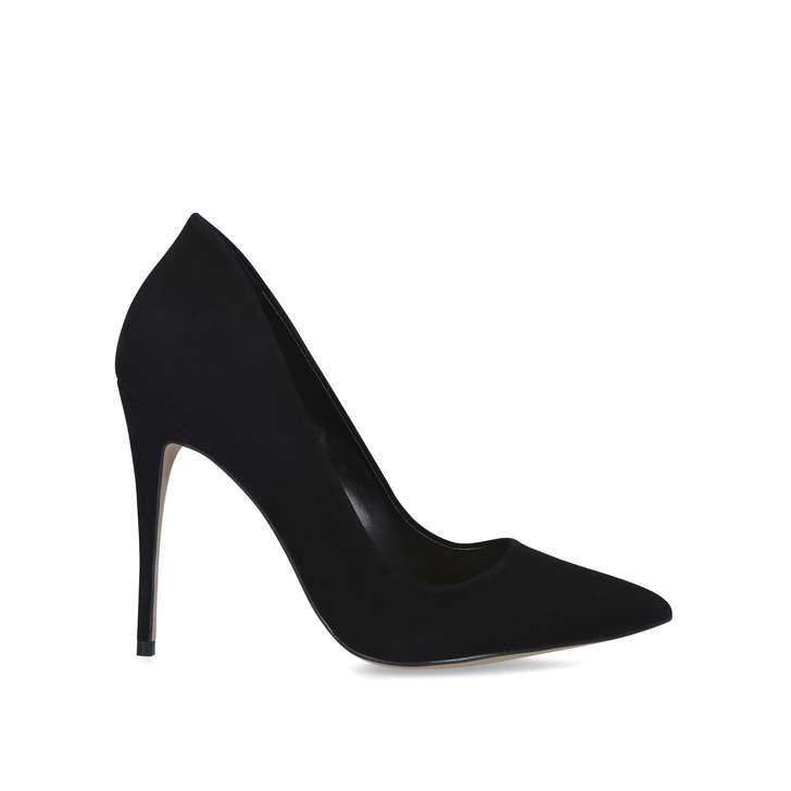 CASSEDY Black Stiletto Heel Court Shoes