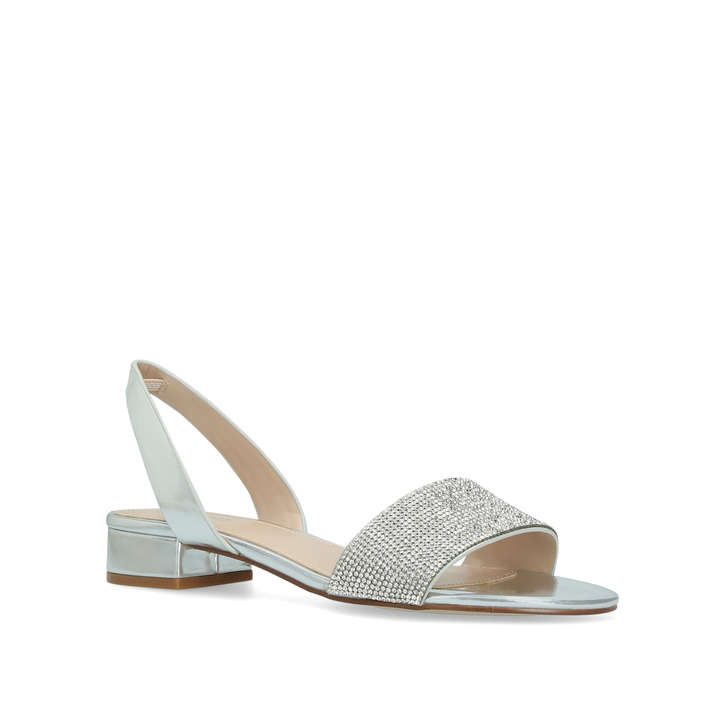 6cad11ddacd Candice Metallic Embellished Sandals By Aldo