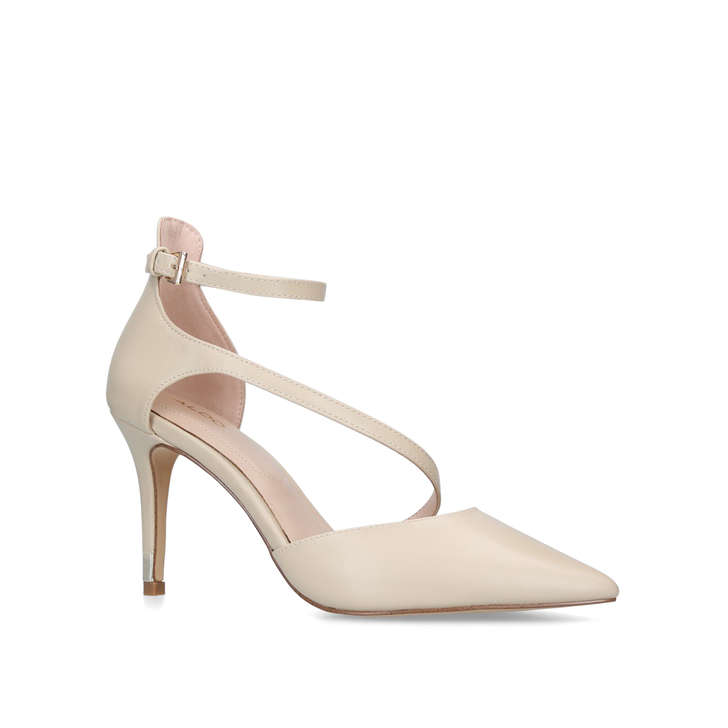 f15c13946e Vetrano Nude Cross Strap Court Shoes By Aldo | Kurt Geiger