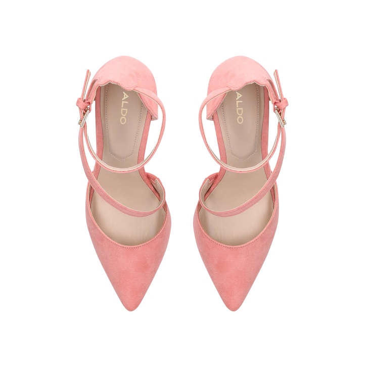 1f21558515 Vetrano Peach Cross Strap Court Shoes By Aldo | Kurt Geiger