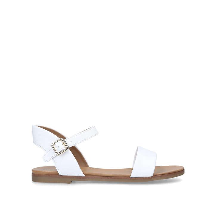 a006a34613db Eterillan White Strappy Sandals By Aldo