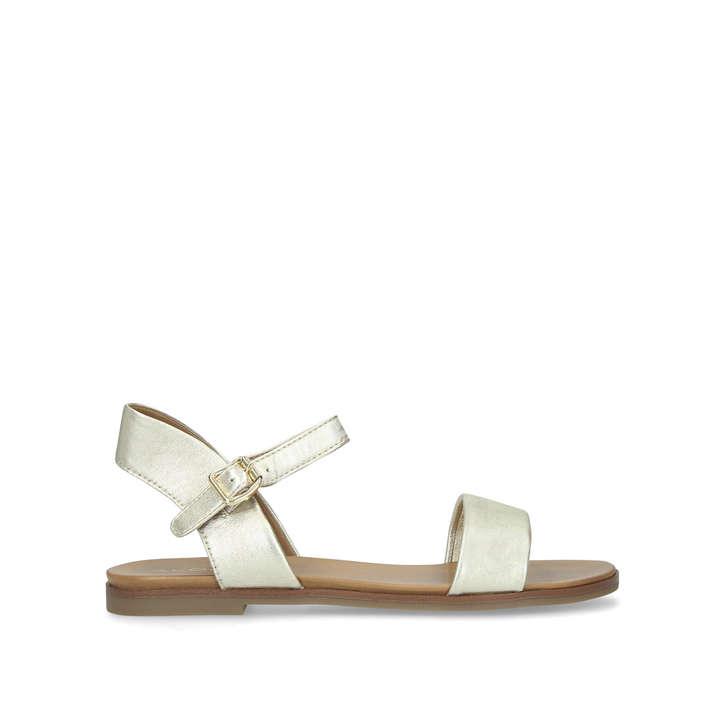 4e226c4e5b06 Eterillan Gold Strappy Sandals By Aldo