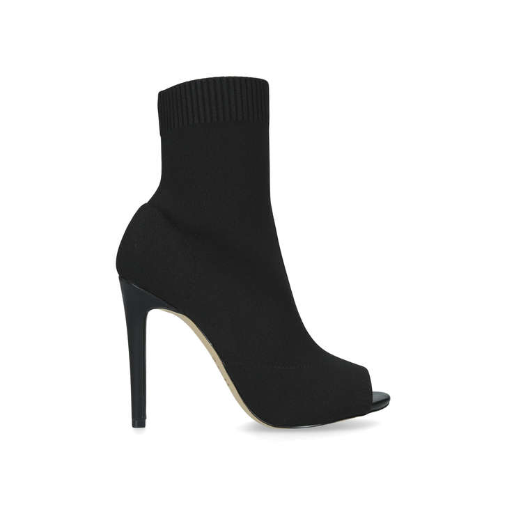 d474a471304c Gecia Black Stiletto Heeled Sock Boots By Aldo | Kurt Geiger