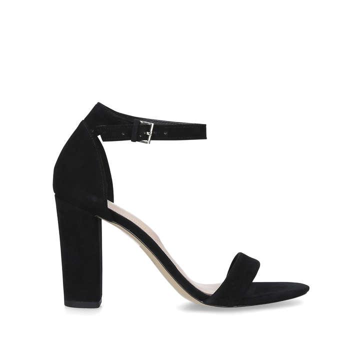 abdb321cdca Jerayclya Black Block Heel Sandals By Aldo