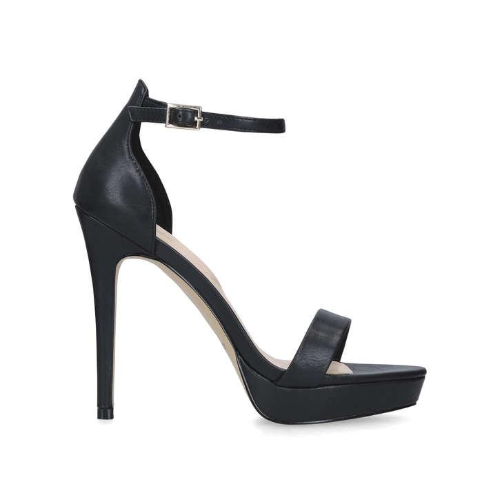 f967aef4d7d MADALENE Black Platform Stiletto Heel Sandals by ALDO
