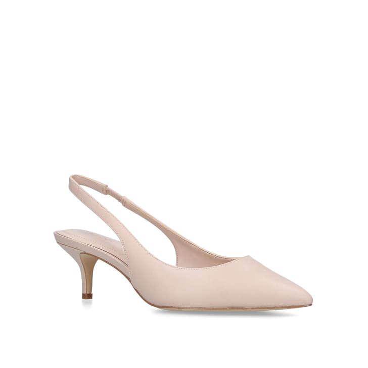 eb8a11757a Nilania Nude Slingback Kitten Heel Court Shoes By Aldo   Kurt Geiger