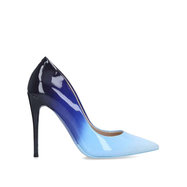 836e1e56da48 Stessy Blue Stiletto Heel Court Shoes By Aldo