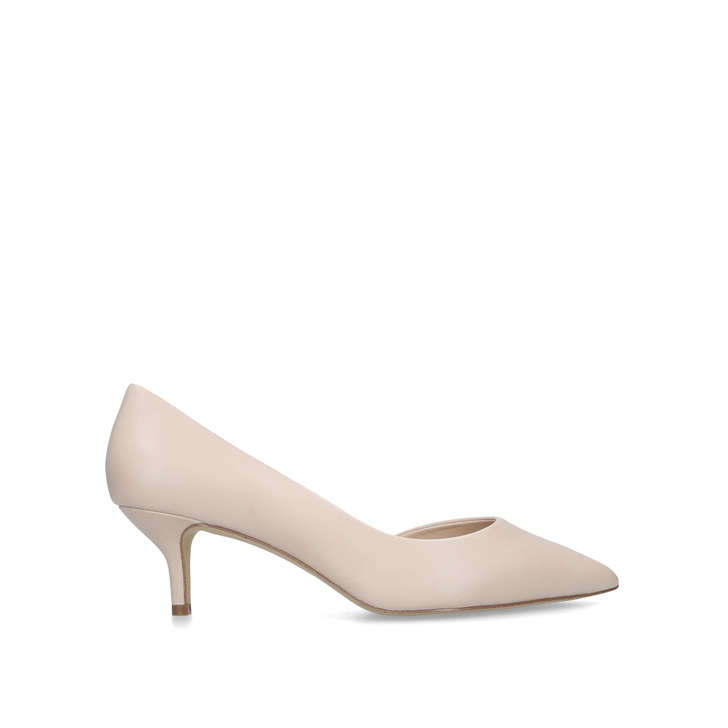 Nyderindra Pink Mid Heel Court Shoes By Aldo  fd2d313a1cbf