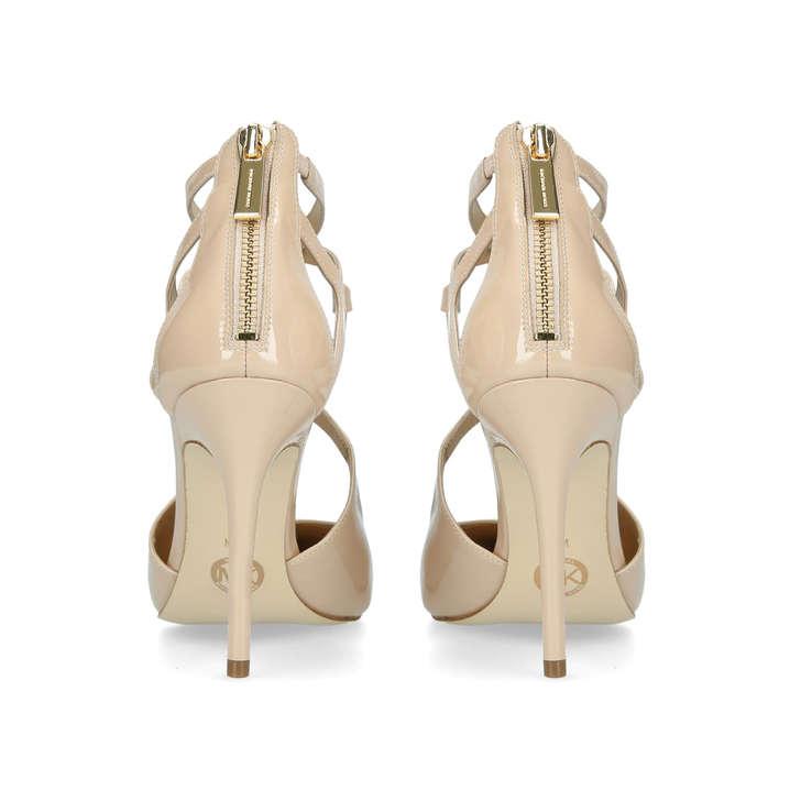 ff4ad00dec1e Catia Pump Nude Patent Stiletto Heel Shoes By Michael Michael Kors ...