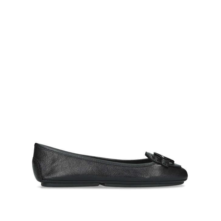 16b1e2d8 Lillie Moc Black Leather Loafers By Michael Michael Kors | Kurt Geiger