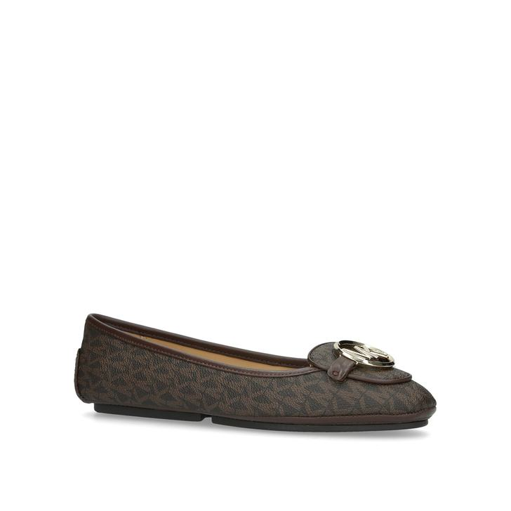 2a22ac8005c3 Lillie Moc Brown Loafers By Michael Michael Kors