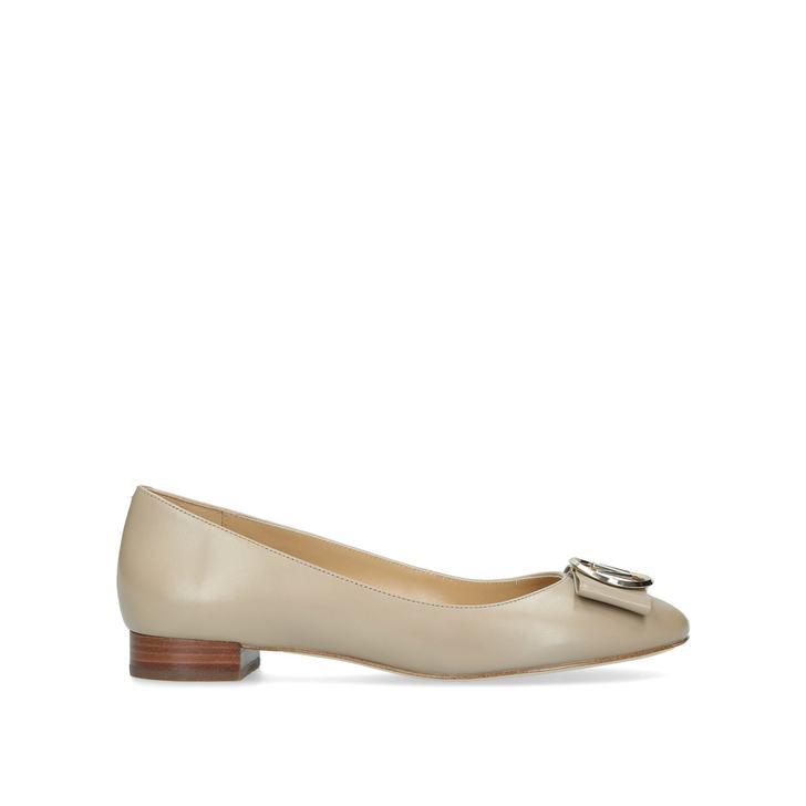6ed877760 Marsha Flat Brown Ballerina Pumps By Michael Michael Kors | Kurt Geiger