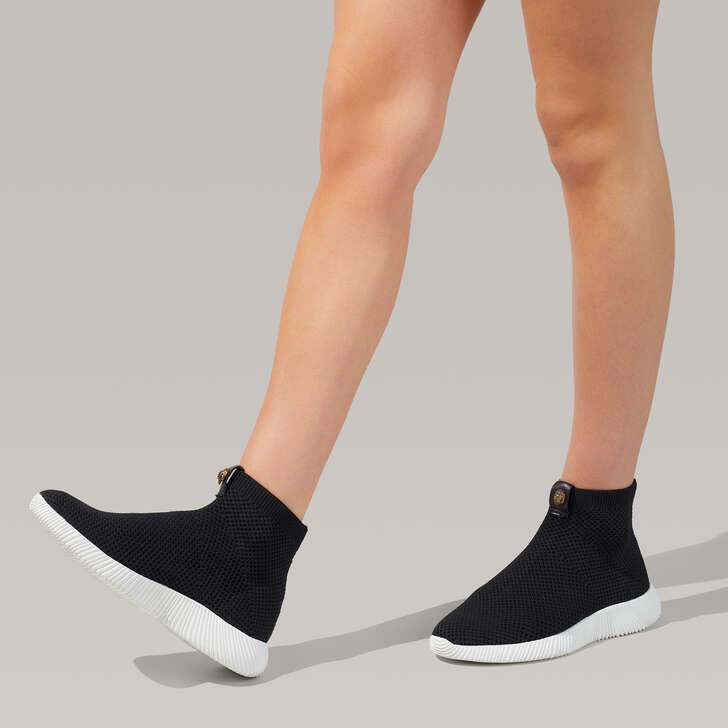 Lorna Sock Black Eagle Embellished Sock