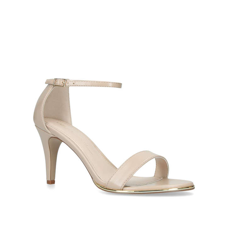 948640f66c9 Wide Fit Kink Wide Fit Nude Strappy Sandals By Carvela