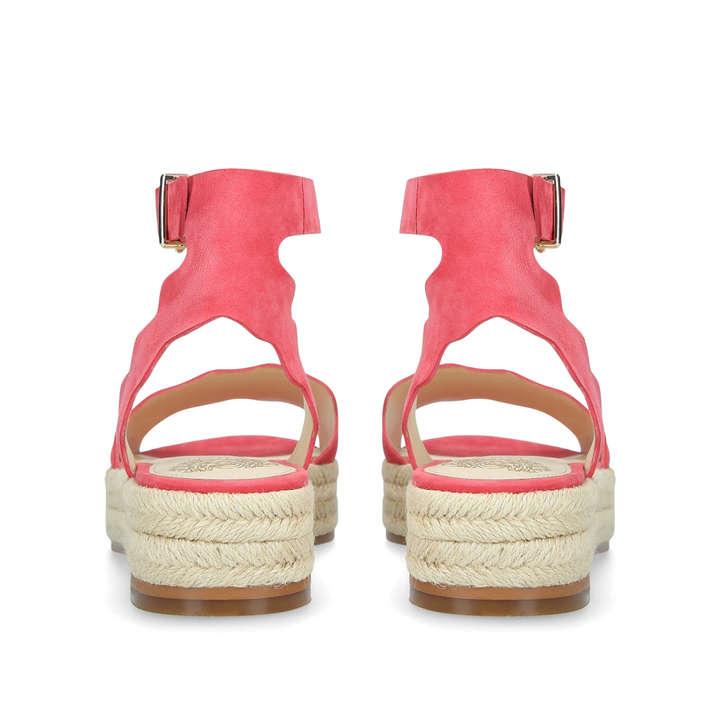 d5c3cad7d5db Kamperla Red Flatform Sandals
