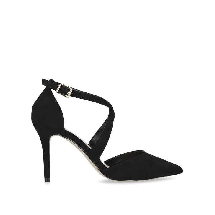 WIDE FIT KROSS Wide Fit Black Mid Heel