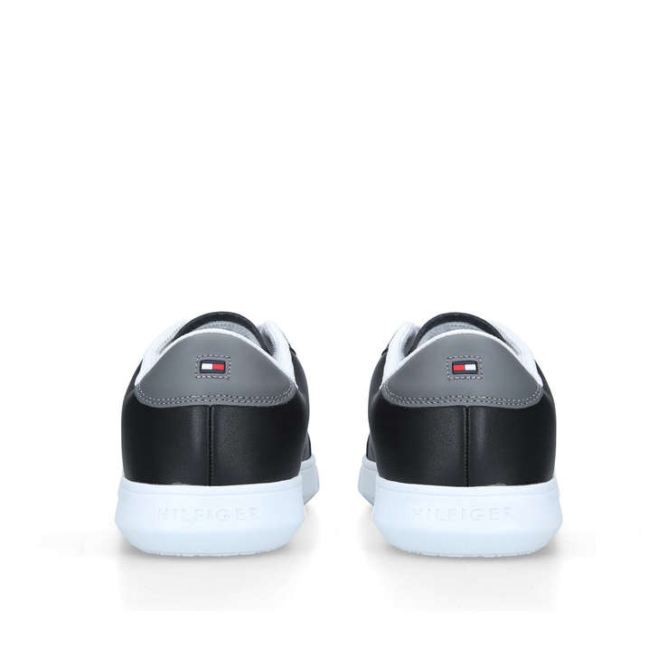 dcf2cf7f5aeb Essential Cupsole Black Low Top Trainers By Tommy Hilfiger