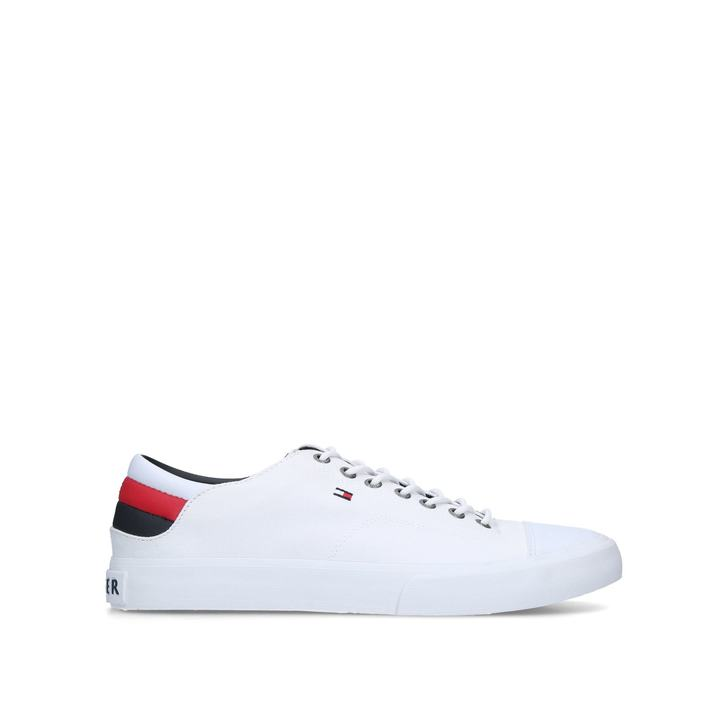 94d73e252ce07c Hilfiger Ll Sneaker White Low Top Trainers By Tommy Hilfiger