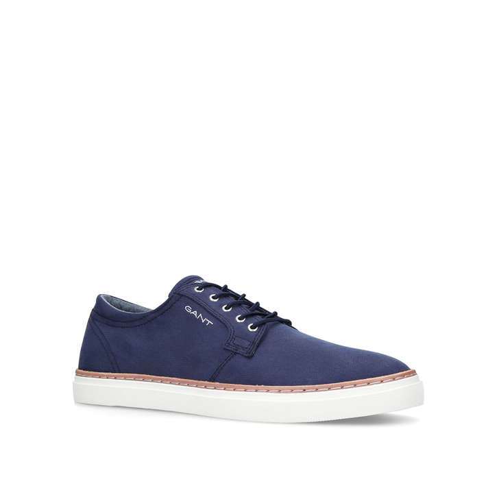d2951b92927159 Bari Lo Top Sneaker White Low Top Canvas Trainers By Gant