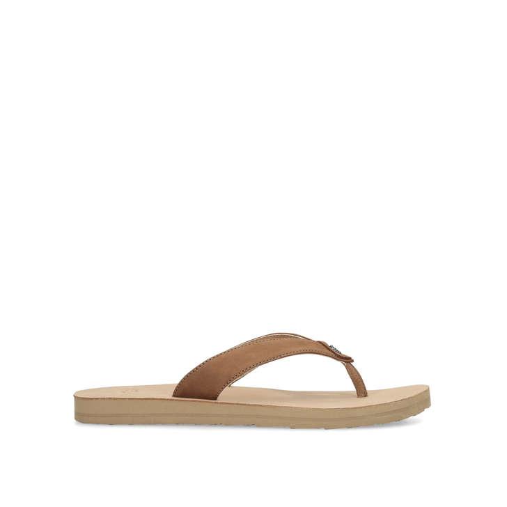 1647f621d4b Tawney Tan Flip Flops By UGG | Kurt Geiger