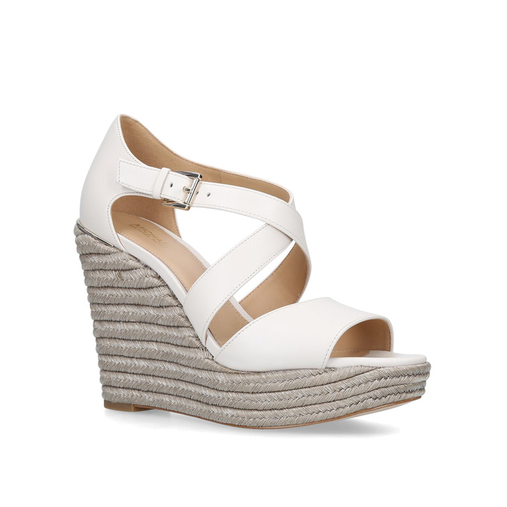 f2d28be563c Abbott Wedge Cream Espadrille Wedge Sandals By Michael Michael Kors ...