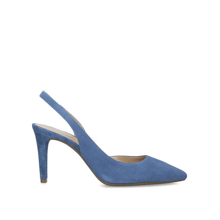 b0f2b20c33 Lucille Flex Sling Blue Slingback Court Shoes By Michael Michael Kors |  Kurt Geiger