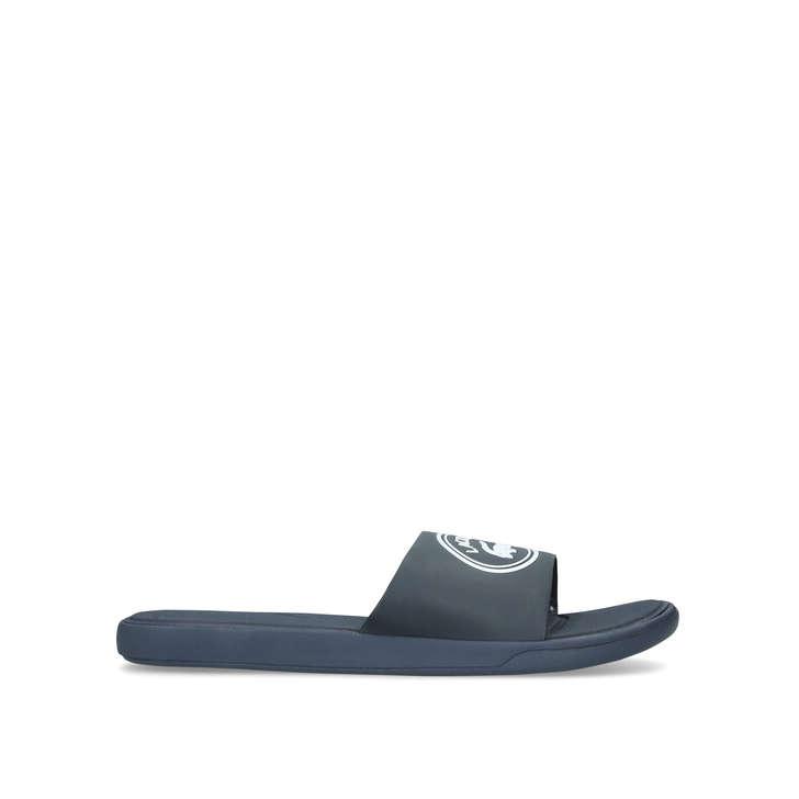 a36bb1852 L30 Logo Slide Men s Navy Sliders By Lacoste