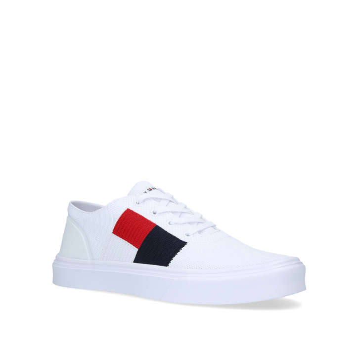 cd211c45ac116c LT CORP FLAG SNEAKER White Lace Up Trainers by TOMMY HILFIGER | Kurt Geiger