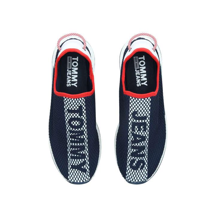 542656115cd97d Tj Mesh Sock Lo Navy Slip On Trainers By Tommy Hilfiger | Kurt Geiger