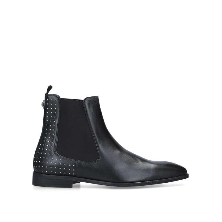 Freddie Chelsea Boot Stud Men S Black Eagle Embellished