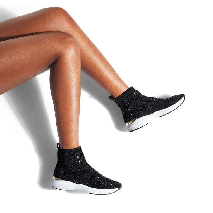 kurt geiger sock trainers womens