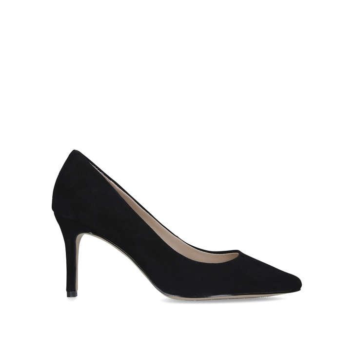 CORONITIFLEX Black Stiletto Heel Court