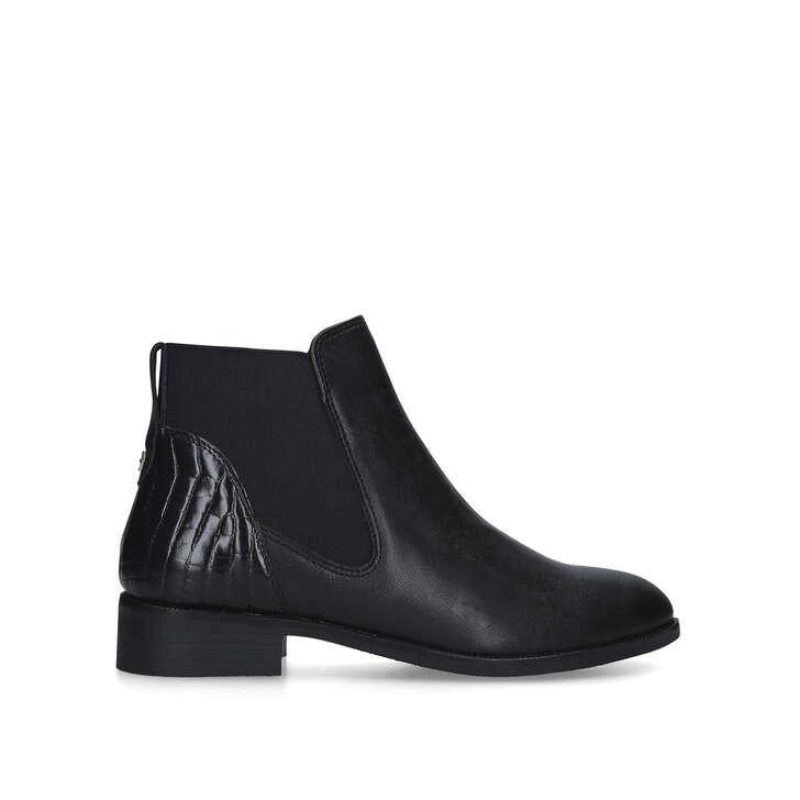 STIFLE Black Chelsea Boots by CARVELA
