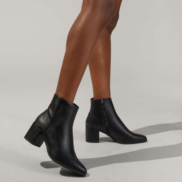 kurt geiger heeled ankle boots