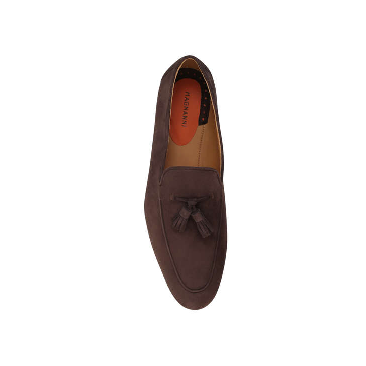 bc821e96f9d Tassel Loafer Brown Loafer Shoes By Magnanni