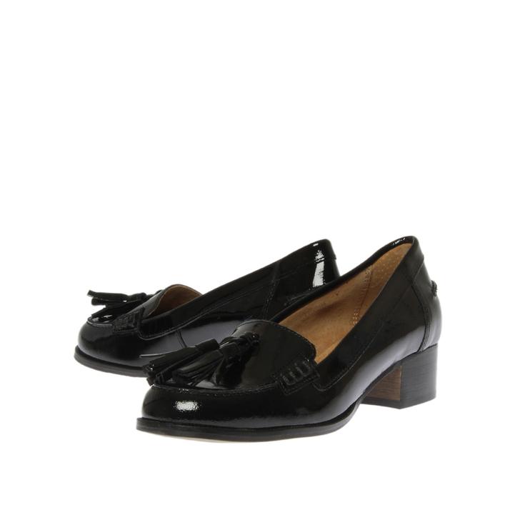 Tassle Patent Loafer - Black Carvela sbKPuX