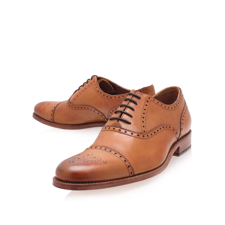 cbdd5181cb Tom Punched Toe Cap Ox Leather Lace Up Shoes By Grenson | Kurt Geiger