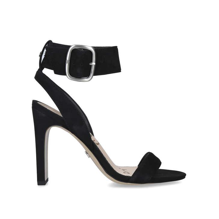 183bbf5d053 Yola Black Block Heel Sandals By Sam Edelman   Kurt Geiger