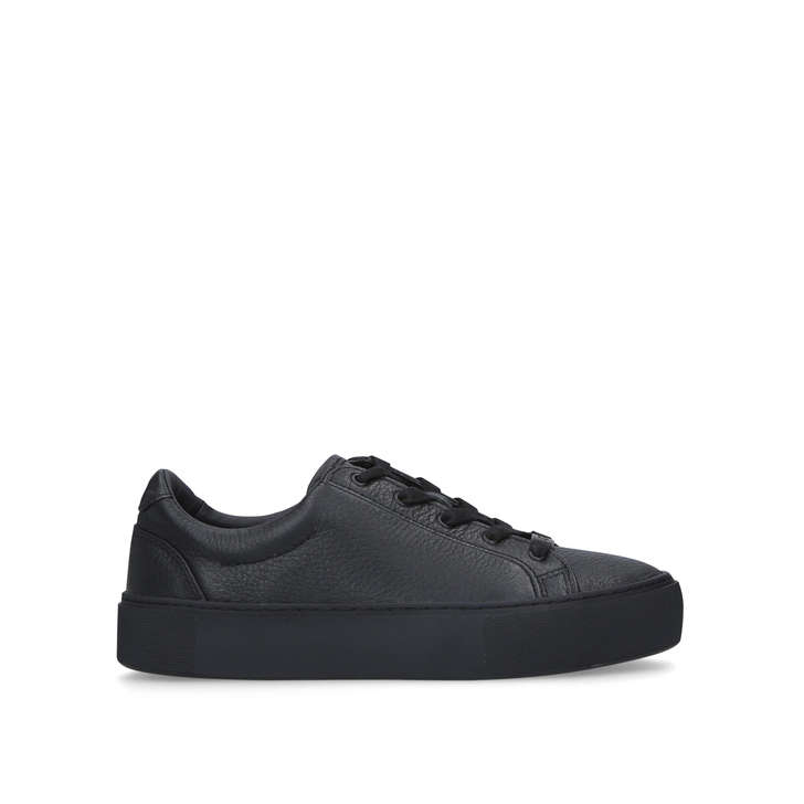 ZILO Black Lace Up Trainers by UGG